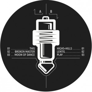 vinyl label highs&hills